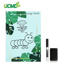 Magnetic Plant Pattern A5 Fridge Sticker Message Memo Record Planner To-do List Pads For Refrigerator Home Kitchen Decoration of breeds beauty american staffordshire terrier january notebook american staffordshire terrier record log diary special memories to do list academic notepad scrapbook