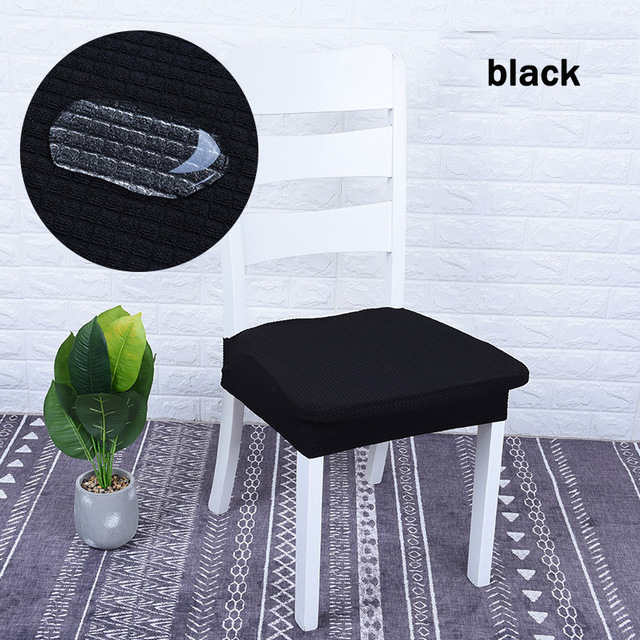 Chair Stool Covers Tattoo Amazon Universal White Dining Room Cover Waterproof Elastic Spandex Bar Backless Funda