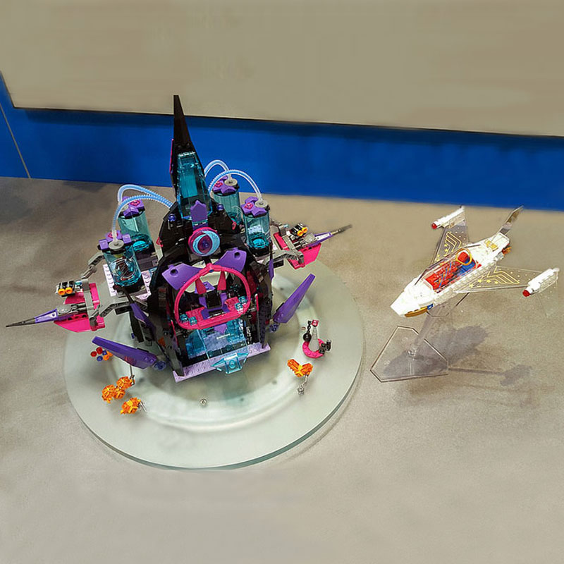 WAZ Compatible Legoe Super Hero Movie 41239 Lepin 29010 1093Pcs Eclipso Dark Palace building blocks Figure toys for children