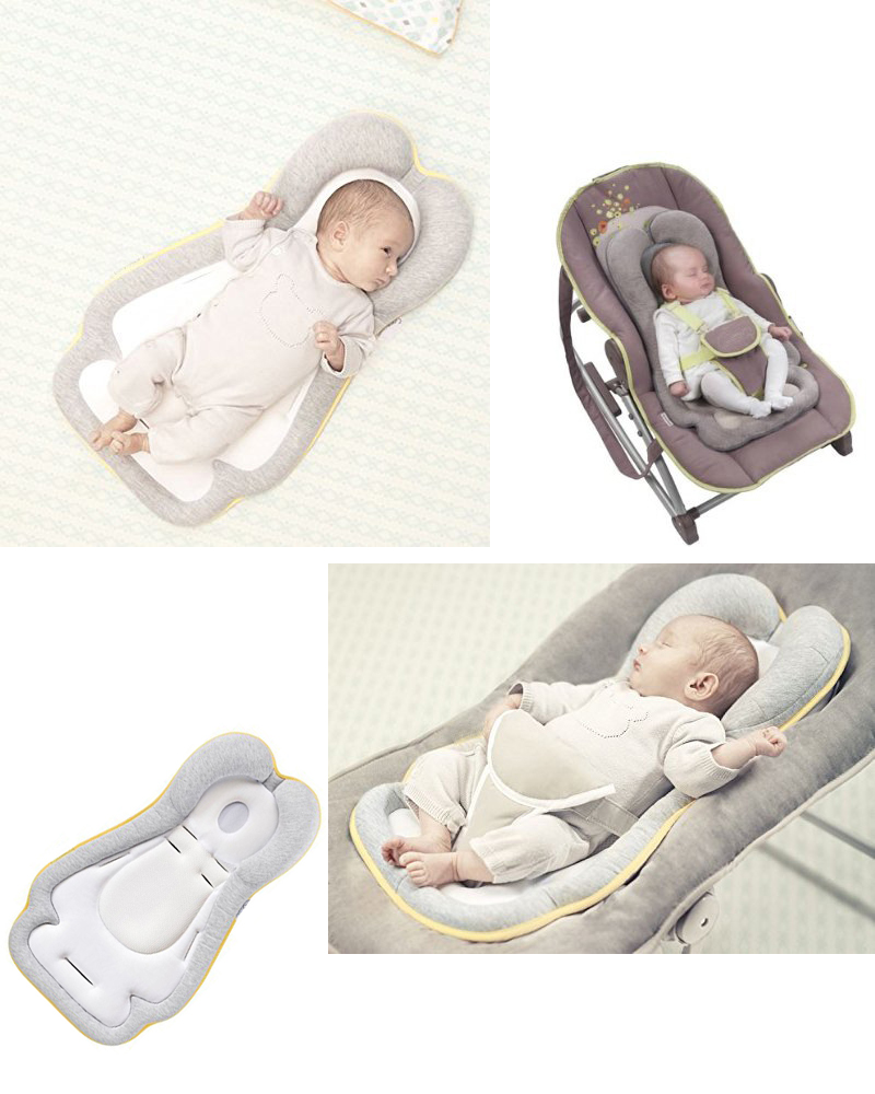 Cosymat -0-8 Months Head Qualitative Pillow Infant Positioning Latex Pillow Baby Pillow Newborn Sleeping Pillow