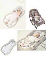 Cosymat-0-8 mois tête oreiller qualitatif positionnement infantile Latex oreiller bébé oreiller nouveau-né oreiller de couchage