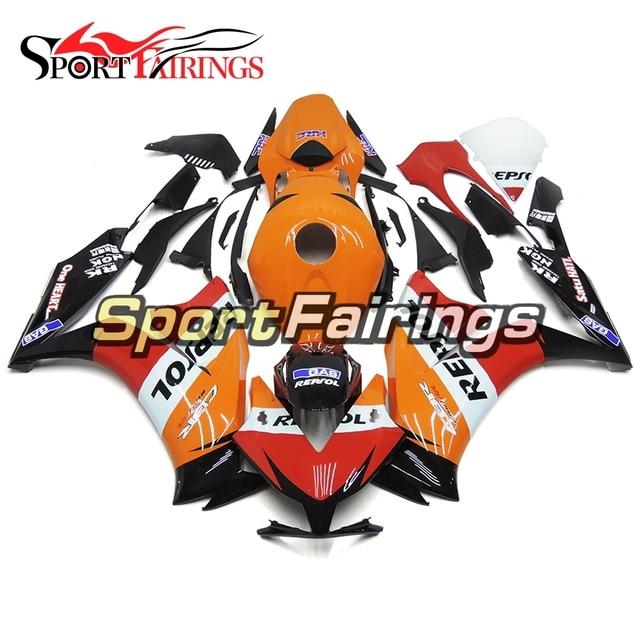 Fairings For Honda CBR1000RR 12 13 14 2012 2013 2014 ABS Plastic Motorcycle Fairing Kit Bodywork Cowling Red White Orange Cowls