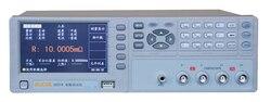 Szybkie przybycie U2516A cyfrowy mili-ohm meterDigital prądu stałego niskie tester rezystancji 0.1mOhm-3 mohm podstawowe  możesz o nich nadmienić 0.05%