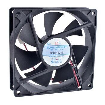 COOLING REVOLUTION SJ9225LD1 9cm 90mm 92mm fan 9025 9225 92x92x25mm 12V 0.10A Double ball bearing super quiet cooling fan