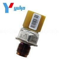 Original Fuel Rail High Pressure Sensor Common Injection Regulator Sender Transducer For Audi A3 8P 2.0 TDI DIESEL GAS 85PP26-93