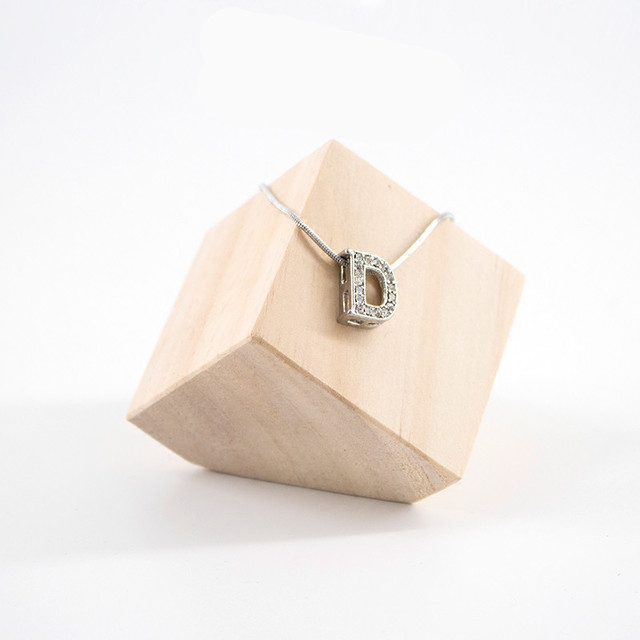 Solid Wood Square Bracelets Display Holder Ring Stand Jewelry