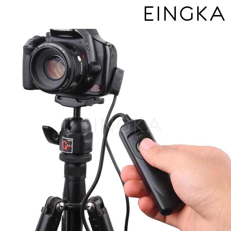 Камера Дистанционного Управления Спуска затвора Переключатель RS-60 E3 для 60D 70D 550D 600D 700D 750D G16 G1X Mark II SX60 SX50 HS