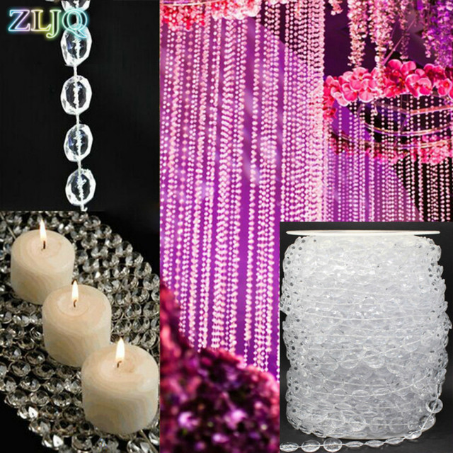 30 M Bruiloft Decoratie Bling Diamond Mesh Trim Wrap Cake Roll ...
