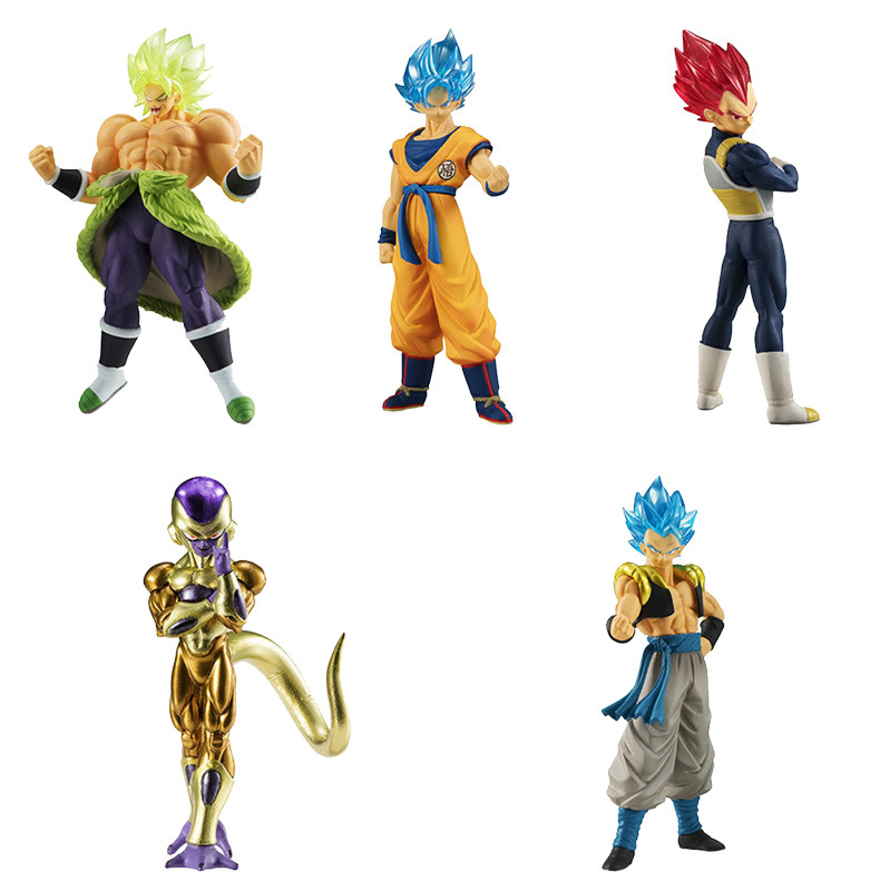 Gashapon Dragon Ball Super BROLY MOVIE HG SERIES VOL.1 GOGETA SS GOD BANDAI