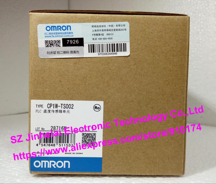 New and original CP1W-TS002  OMRON PLC Temperature sensor unit new and original e3x da11 s omron optical fiber amplifier photoelectric switch 12 24vdc