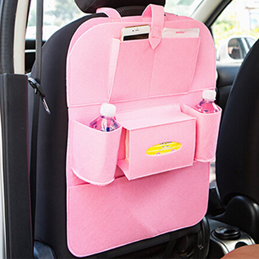 online shop universal car back seat organizer holder tablet storage bag insulated auto multi pocket chair for kids aliexpress mobile