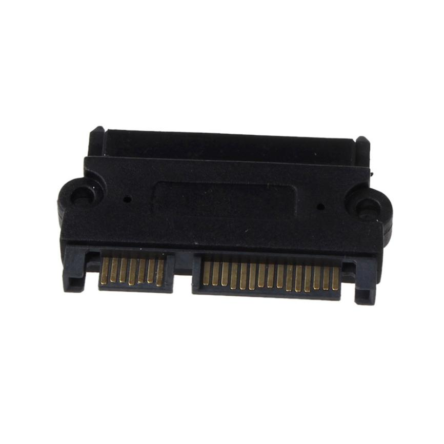 Factory Price MOSUNX Hot Selling SATA 22P 7+15 Pin Male Plug To SATA 22Pin 7+15 Female Jack Convertor Adapter Drop Shipping