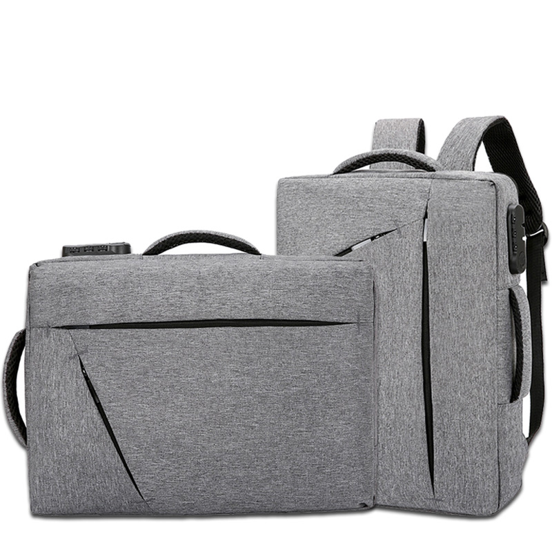 15 Inch Laptop Briefcase Mens With Password Lock Office Bags For Men Big Handbags Nylon Business Bag Traveller Sac Homme XA215ZC