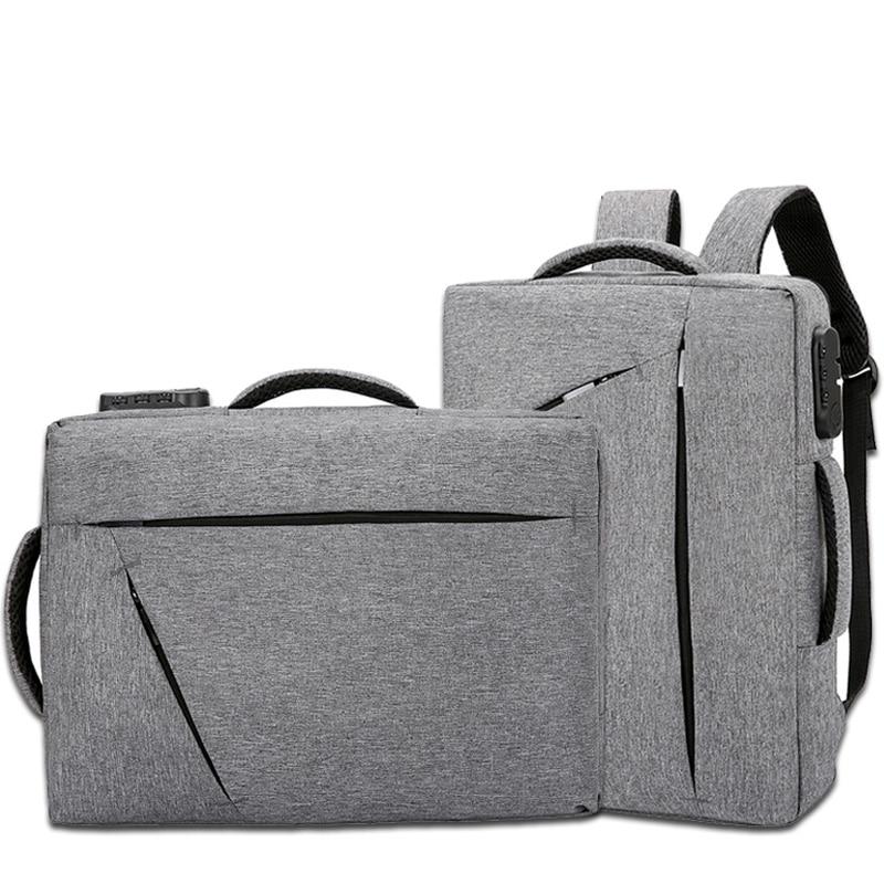 15 Inch Laptop Briefcase Mens With Password Lock Office Bags For Men Big Handbags Nylon Business Bag Traveller Sac Homme XA215ZC