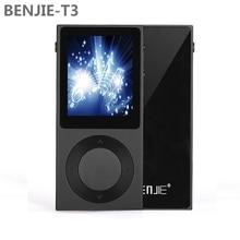"""Original benjie t3 mp3 player 1.8 """"TFT de Pantalla Completa de Aleación de Zinc Sin Pérdidas de Alta Fidelidad Reproductor de Música MP3 Soporte DSD/Bluetooth/AUX"""