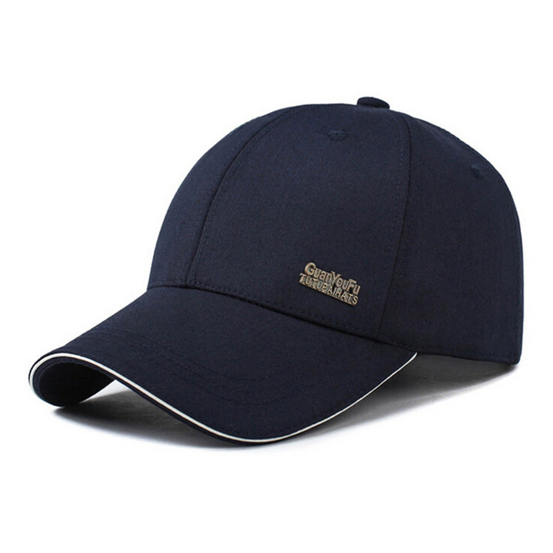 2019 Spring Autumn Men's Baseball Cap Male Bone Snapback Caps Hats Sunscreen Gorras Hombre Dad Hat Drake Grey Solid Color