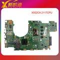 Para asus x502ca laptop motherboard rev.2.1 2117cpu x402ca mainboard totalmente testado