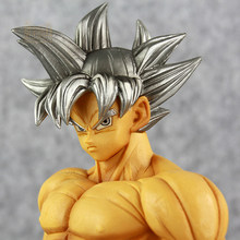 Super Dragon Ball Heroes Dragon Ball Super 100% Original DXF GROS Ultra Instinct Goku PVC Action Figure Kid Dolls Toys Figurals(China)
