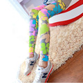 Hot selling High Elastic Design Vintage graffiti Leggings Floral patterned Print Leggins For Women Free Shipping Leggins Sale