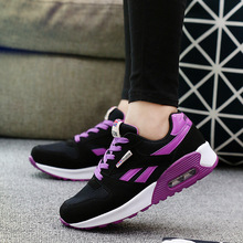 Outdoor Women Sneakers Air Running Shoes for Breathable Fashion High Quality Black Girls