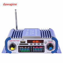 Digital Audio Player 40W HIFI Amplifier FM Radio MP3 Play SD Card USB Disk Slot Power Adapter For DVD CD TV Computer Car Audio
