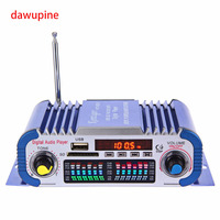 Dijital Ses Çalar 40 W HIFI Amplifikatör FM Radyo MP3 Çalma SD Kart USB Disk Yuvası Için Güç Adaptörü DVD CD TV Bilgisayar Araç Ses