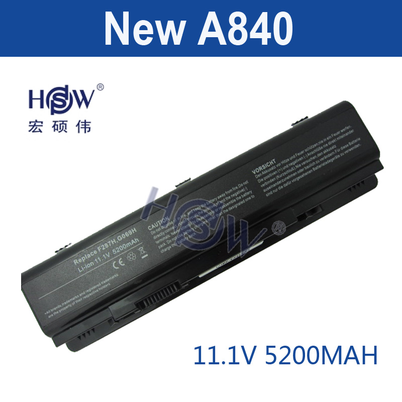 HSW Laptop Battery For Dell Vostro 1014 1015 1088 A840 A860 Inspiron 1410 F286H F287F F287H G066H PP37L PP38L R998H 451-10673 russian keyboard for dell a840 a860 vostro 1014 1015 1088 pp37l r811h 0r811h r818h 0r818h pp38l ru black v080925bs1