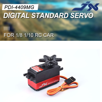 цена на JX Servo PDI-4409MG 9KG Short Servo Digital Standard Servo For 1/8 1/10 RC Car LOW PROFILE Metal Gear 3racing 3R SAKURA D4 CS