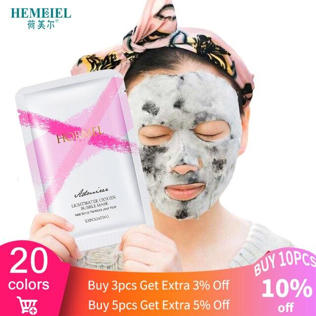 HEMEIEL SOMILD Hyaluronic Face Mask Natural Essence Whitening Moisturizing Bubble Mask Facial Skin Care Korean Treatment Mask 1