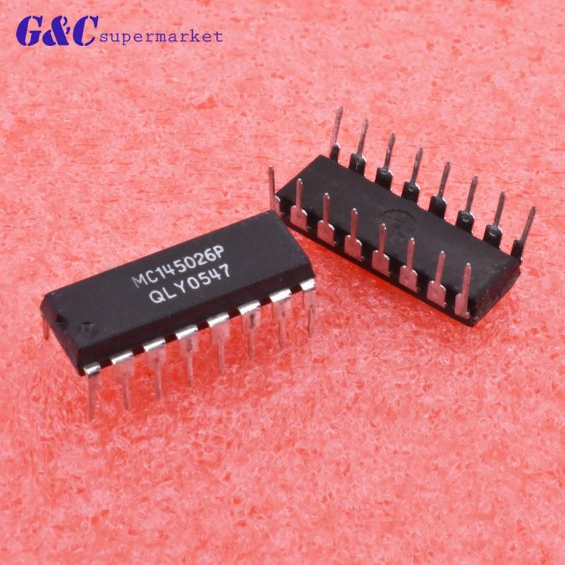 5PCS NEW MC145026P