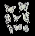 Children cartoon butterfly luminous three-dimensional fashion/fluorescent stick kindergarten teaching AIDS