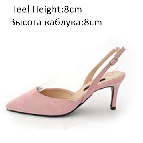 Pink Shoes 8cm