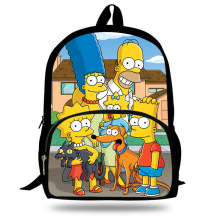 Funny Cartoon The Simpsons Backpack For Teens Boys Kids character homer&marge Book Bag Children School Bags Men Women Backpacks