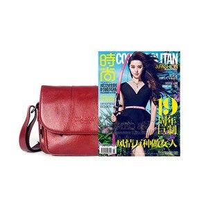 Image 5 - Echt Leer Beroemde Designer Vrouwen Crossbody Tassen Kleine Messenger Bags Reizen Schoudertassen Voor Dames Handtassen Tote Purse