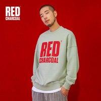Красный Уголь 2018 S зеленый пуловер Толстовка мужские свободные логотип печати кофты в стиле хип хоп Уличная одежда