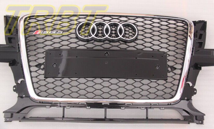 Q5 Grill RSQ5 Front Bumper Grill Mesh Middle Grille Racing Grills Case for Audi Q5 2010 2011 2013 2014 2015 2016 2017 3 series carbon front bumper racing grill grills for bmw f30 f31 standard sport 12 16 320i 325i 330i 340i non m3 style car cover