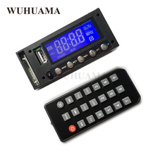 Bluetooth Auto Stereo FM Radio MP3 Audio Speler Module DC/AC 7/12/16 V USB SD Mono Dot Matrix Blue LED Display Autoradio