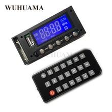Bluetoothカーステレオfmラジオmp3オーディオプレーヤーモジュールdc/ac 7/12/16ボルトのusb sdモノラルドットマトリックスブルーledディスプレイautoradio