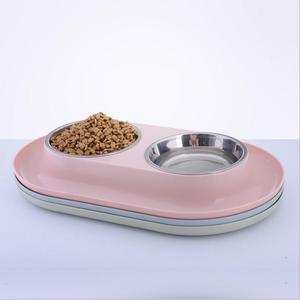 Stainless Steel Pet Dog Double