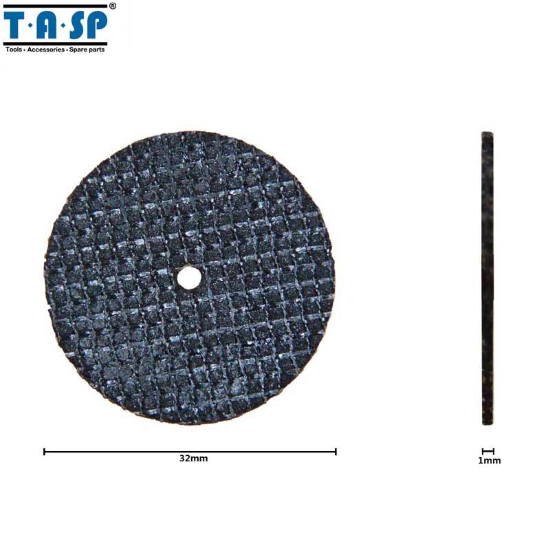 TASP 50 sztuk Wzmocniona włóknem szklanym tarcza tnąca Zestaw - Narzędzia ścierne - Zdjęcie 2