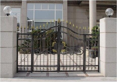 Home Wrought Iron Gates Patio Doors House Doors Door Entrance Doors District