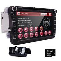 7 ''2 Din Samochód DVD Player Dla Skoda Octavia Fabia Szybki Yeti Superb VW Seat Stereo Wifi 3G GPS Navigation Radio FM 1080 P Ipod mapa