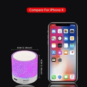 Image 4 - GETIHU bezprzewodowy przenośny głośnik Bluetooth Mini LED muzyka Audio TF USB FM Stereo głośnik do telefonu Xiaomi kolumna komputerowa