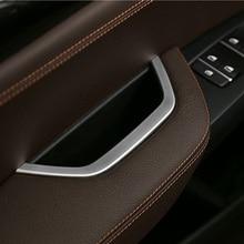 Автомобильный интерьер главный привод дверная ручка для хранения декоративная накладка для BMW X3 F25 2011- LHD автомобильные аксессуары