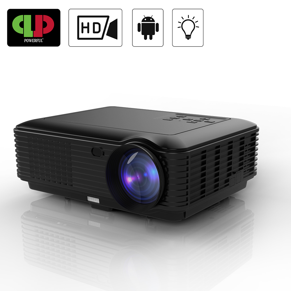 Powerful HD Projector SV 228 LCD LED Projector 1280 800 1080P 4K Android Home Video Theater