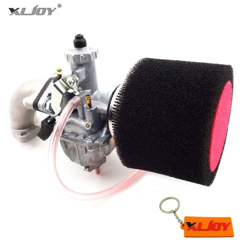Карбюратор Mikuni VM22 26 мм, впускной воздушный фильтр 38 мм в сборе, прокладка для питбайка 110cc 125cc 140cc SSR YCF ESB