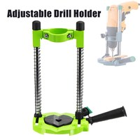 DIY Precision Drill Guide Pipe Drill Holder Stand Drilling Guide With Adjustable Angle And Removeable Handle