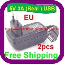 EU plug 5 v 3000mA usb зарядное устройство 3A адаптер питания планшетный ПК usb настенное зарядное устройство