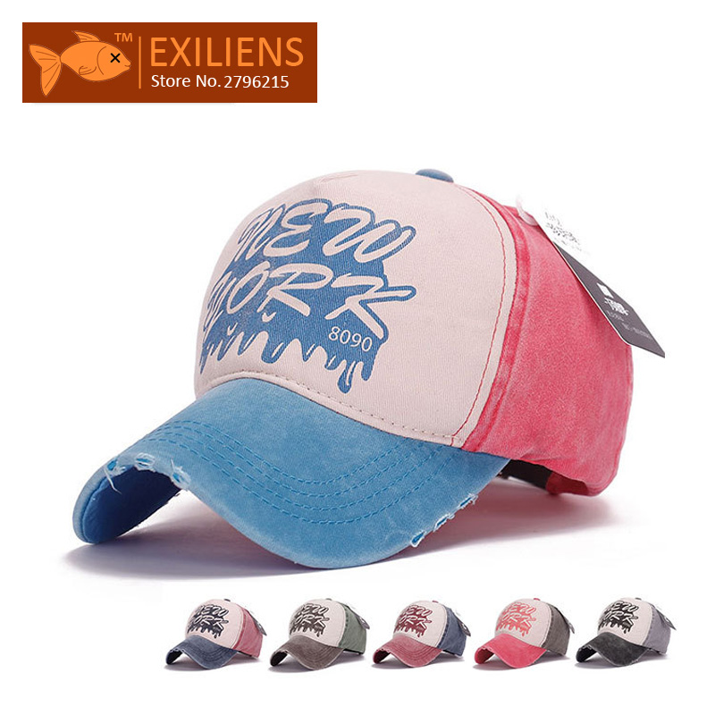 [EXILIENS] 2017 Fashion Brand Baseball Cap Cotton new york Sale Snapback Caps Strapback Hip-hop Hats For Men Women Fitted Hat