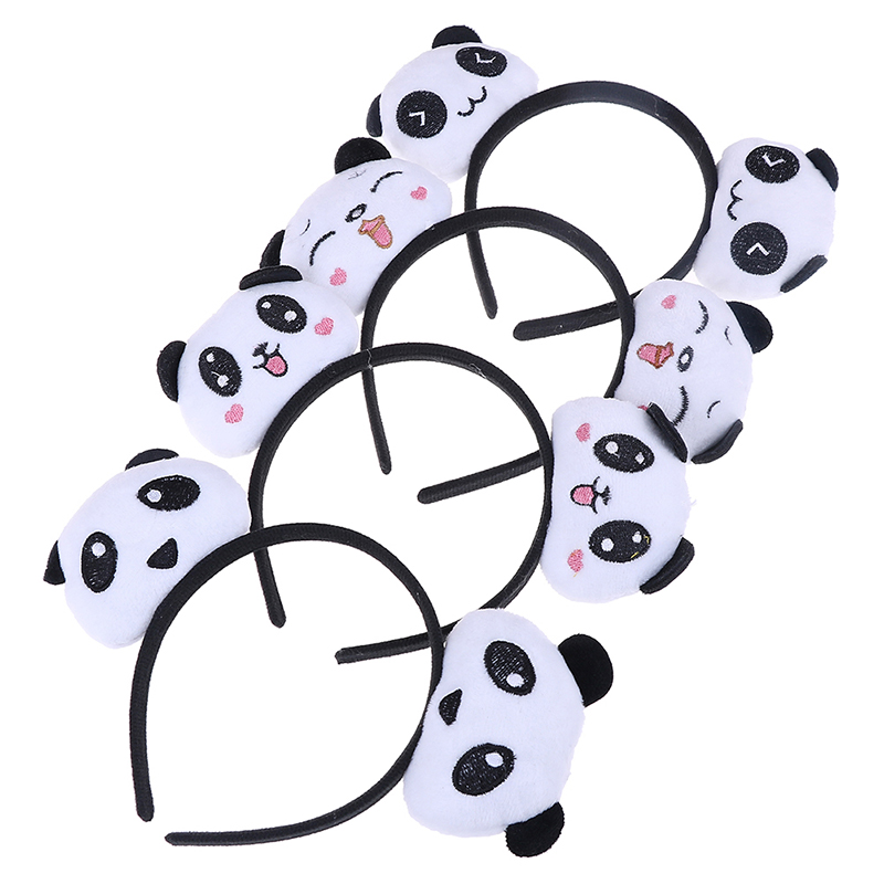 9 Styles New Little Plush toys For Baby Hair Band Hair TIE Cute and Beautiful Kid's Party Gift Panda Plush Stuffed toys